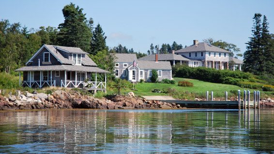 Peregrine Island Maine House For Rent